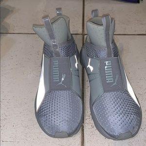 Puma high top sneakers